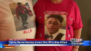 Family Remembering Murdered Loved One [Video]