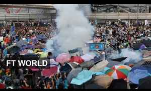 Hong Kong Protest 1: Police fire tear gas at crowd [Video]