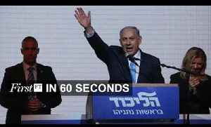 Netanyahu poll victory, Super Mario on your phone | FirstFT [Video]