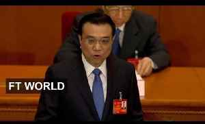 China sets 7.5 per cent growth target [Video]