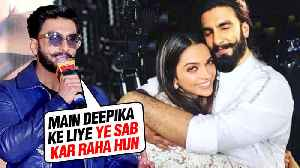 Ranveer Singh REACTS On LIVING In Deepika Padukone's House After Marriage [Video]