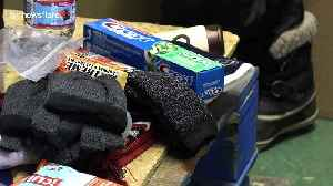Volunteers in Toronto pack emergency supplies for the homeless during severe cold weather outbreak [Video]