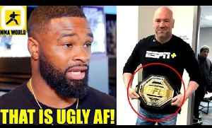MMA Community Reacts to UFC's new 'Legacy Championship Belt',TJ Dillashaw vs Henry Cejudo weigh-ins [Video]