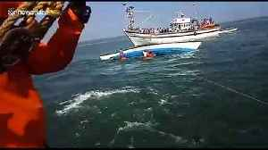 Eight dead, one missing as ferry capsizes off south India [Video]