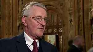 Hilary Benn: We must take no-deal off the table [Video]