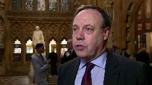 Nigel Dodds: DUP open to further discussions with PM [Video]