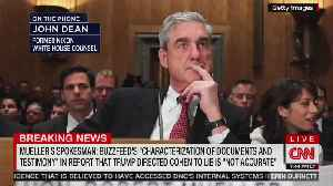 Another CNN Host Responds To Mueller Statement — 'It Sounds Pretty Terrible for BuzzFeed' [Video]
