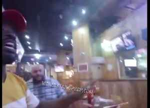 Trump Supporter Wearing MAGA Hat Calls Out Hooter's Waitress [Video]