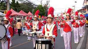 Thai Marching Band Does Pop Song Covers [Video]