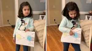 It's not real blood!: Five-year-old future astronaut explains why you shouldn't be afraid of super blood wolf moon [Video]