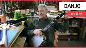 'Gamekeeper-turned banjo maker' who made an instrument for comedian Billy Connolly [Video]