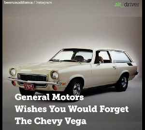 Chevy Vega: The Car That General Motors Wishes You Would Forget [Video]