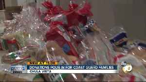 Chula Vista man collects donations for Coast Guard families affected by government shutdown [Video]