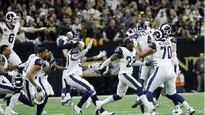 Rams Defeat Saints in NFC Championship [Video]
