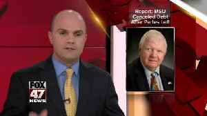 Report: MSU paid off Perles' $200k debt after his resignation [Video]