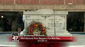 News video: Martin Luther King Jr. National Historical Park in Atlanta open despite government shutdown
