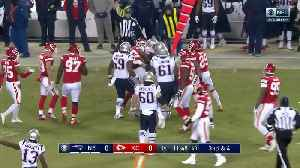 Every first down generated by James White | AFC Championship Game [Video]