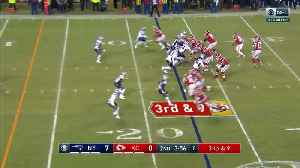 News video: Patriots vs. Chiefs highlights | AFC Championship Game