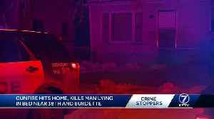 Overnight shooting kills 21-year-old man lying in bed [Video]