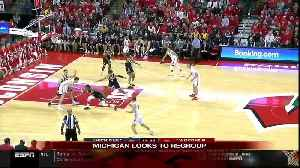 Ethan Happ, Wisconsin hand No. 2 Michigan its first loss [Video]