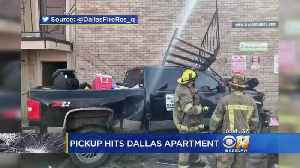 Man Drives Into Apartment Complex In Dallas [Video]