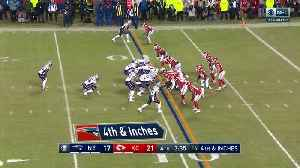 See New England Patriots running back Sony Michel blast through for a 10-yard TD in 360 degrees | True View [Video]