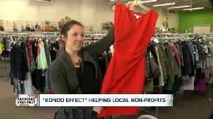 News video: 'Kondo Effect' helping local non-profits