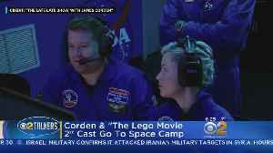 'The Late Late Show' Goes To Space Camp [Video]