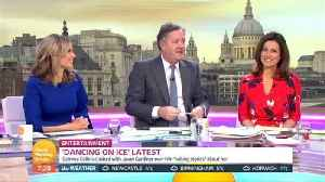 News video: Piers Morgan Defends Gemma Collins Amid 'Dancing On Ice' Row With Jason Gardiner