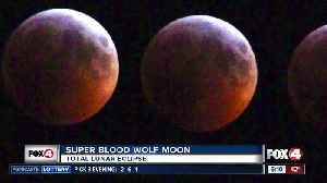 Amazing photos of Super Blood Wolf Moon [Video]