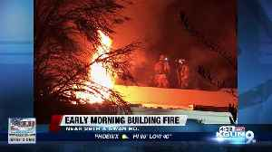 TFD puts out early morning abandoned building fire [Video]