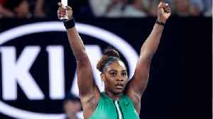 News video: Serena Knocks Out The World #1