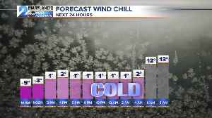Brutal,Brisk, Blustery & Bright Day Ahead [Video]