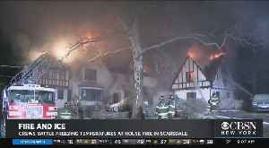 Firefighters Battle House Fire In Westchester County [Video]