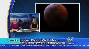 Trending: Super Blood Wolf Moon [Video]