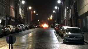 News video: Police arrest four over Northern Ireland car bomb attack