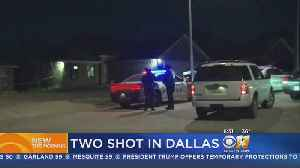 2 People Shot In Backyard Of Their Dallas Home [Video]