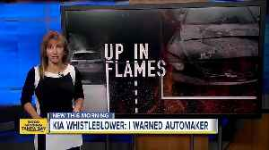 KIA Whistleblower: I warned automaker about car fires [Video]