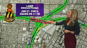 Jan. 21 closures and lane reductions [Video]