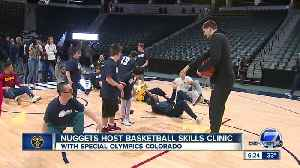 Nuggets share the court with Colorado's Special Olympic Athletes [Video]