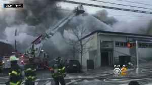 Fire Burns Medical Supply Company In Queens [Video]
