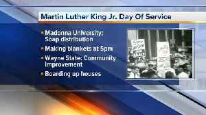 News video: Martin Luther King Jr. Day of Service