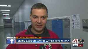 City Year honors Martin Luther King Jr. in day of service [Video]