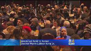 Breakfast honors Dr. Martin Luther King in Boston [Video]