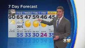 Very Windy With Mild Temperatures [Video]