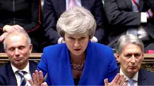 UK PM May says looking forward to exploring Polish proposal for backstop time limit [Video]