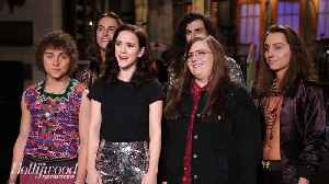 News video: 'SNL' Rewind: Rachel Brosnahan Hosts, Government Shutdown Satirized | THR News