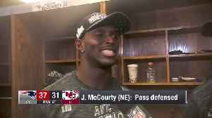 McCourty twins Devin and Jason discuss winning AFC Championship Game together [Video]