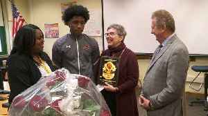 Milwaukee Teacher Honored with Surprise Award for Efforts to Keep MLK`s Message Alive [Video]