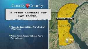 8 Teens Arrested For Car Thefts In Delaware: Police [Video]